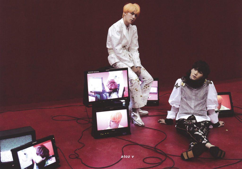 BTS MEMORIES OF 2018 kpop album photo Jin, Suga
