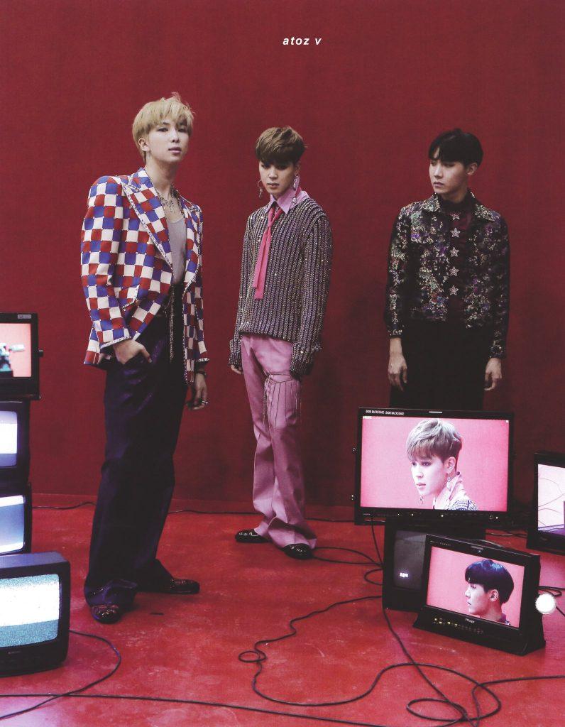 BTS MEMORIES OF 2018 kpop album photo Namjoon, Jimin, Hoseok