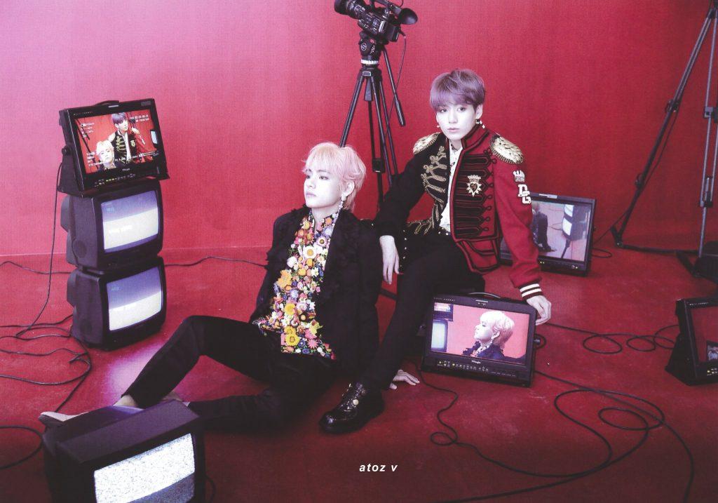 BTS MEMORIES OF 2018 kpop album photo Taehyung, Jungkook