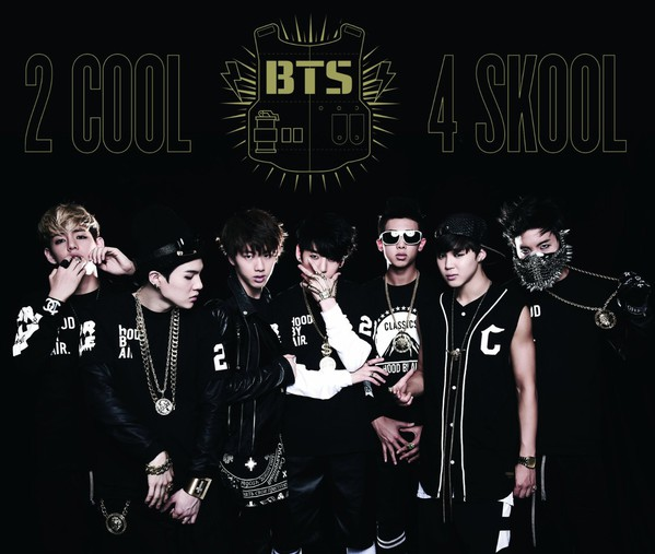 Japanese album BTS 2 COOL 4 SKOOL O! RUL8, 2 photo unboxing tracks videos
