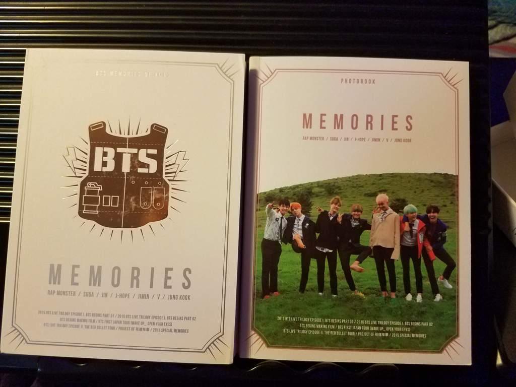 buy kpop album BTS MEMORIES OF 2015 photos