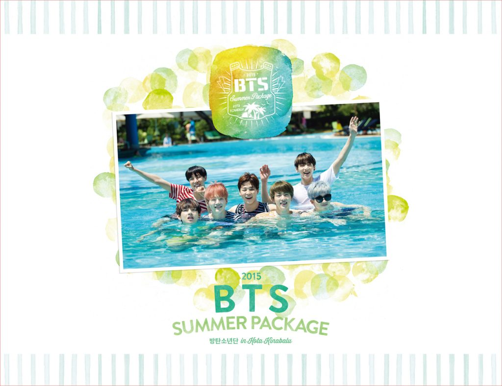 buy kpop album BTS SUMMER PACKAGE IN KOTA KINABALU 2015 photos mv unboxing
