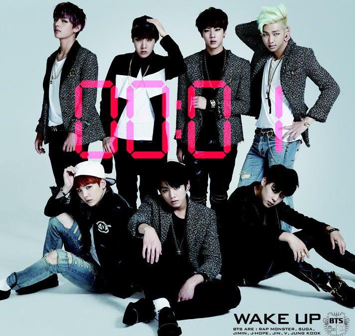 Japanese album BTS – WAKE UP