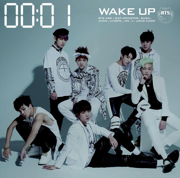 japanese album BTS WAKE UP kpop photo