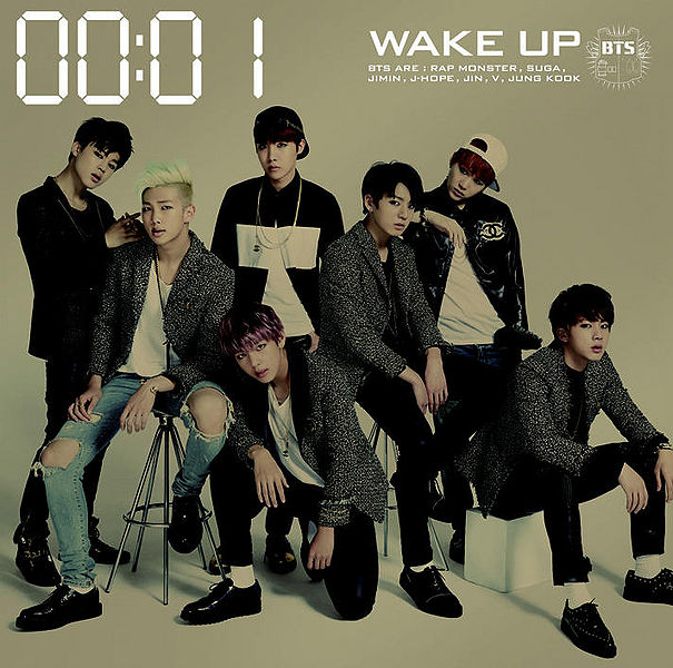 japanese album BTS WAKE UP kpop photos