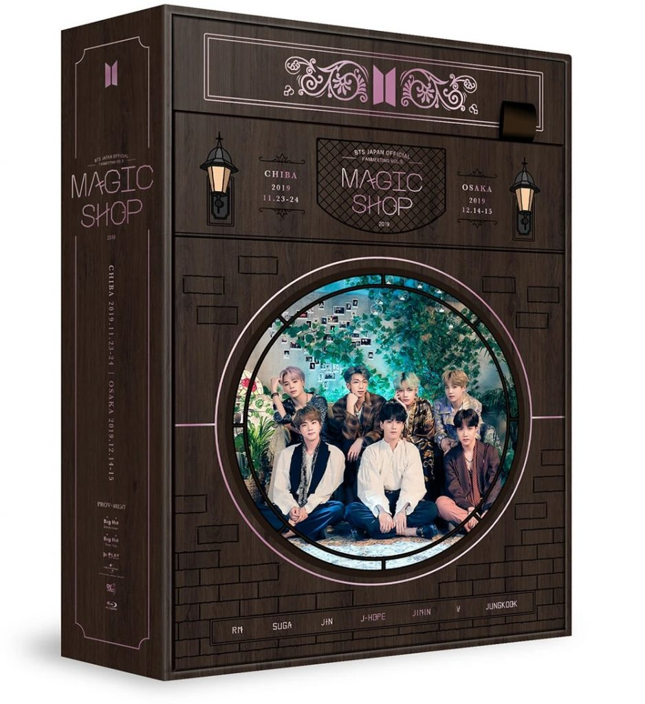 BTS JAPAN OFFICIAL FANMEETING VOL.5 MAGIC SHOP Version Blu-ray