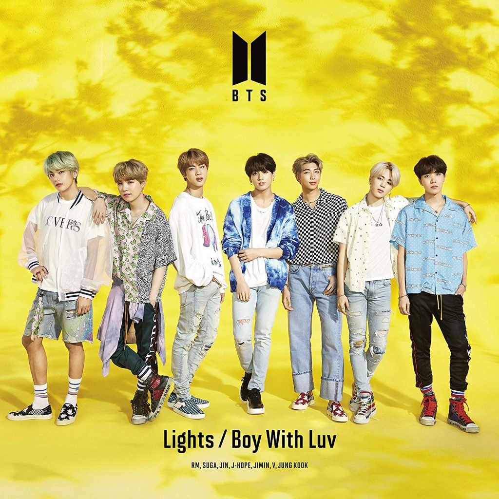 buy japanese kpop album BTS Lights Boy With Luv unboxing photos tracks videos